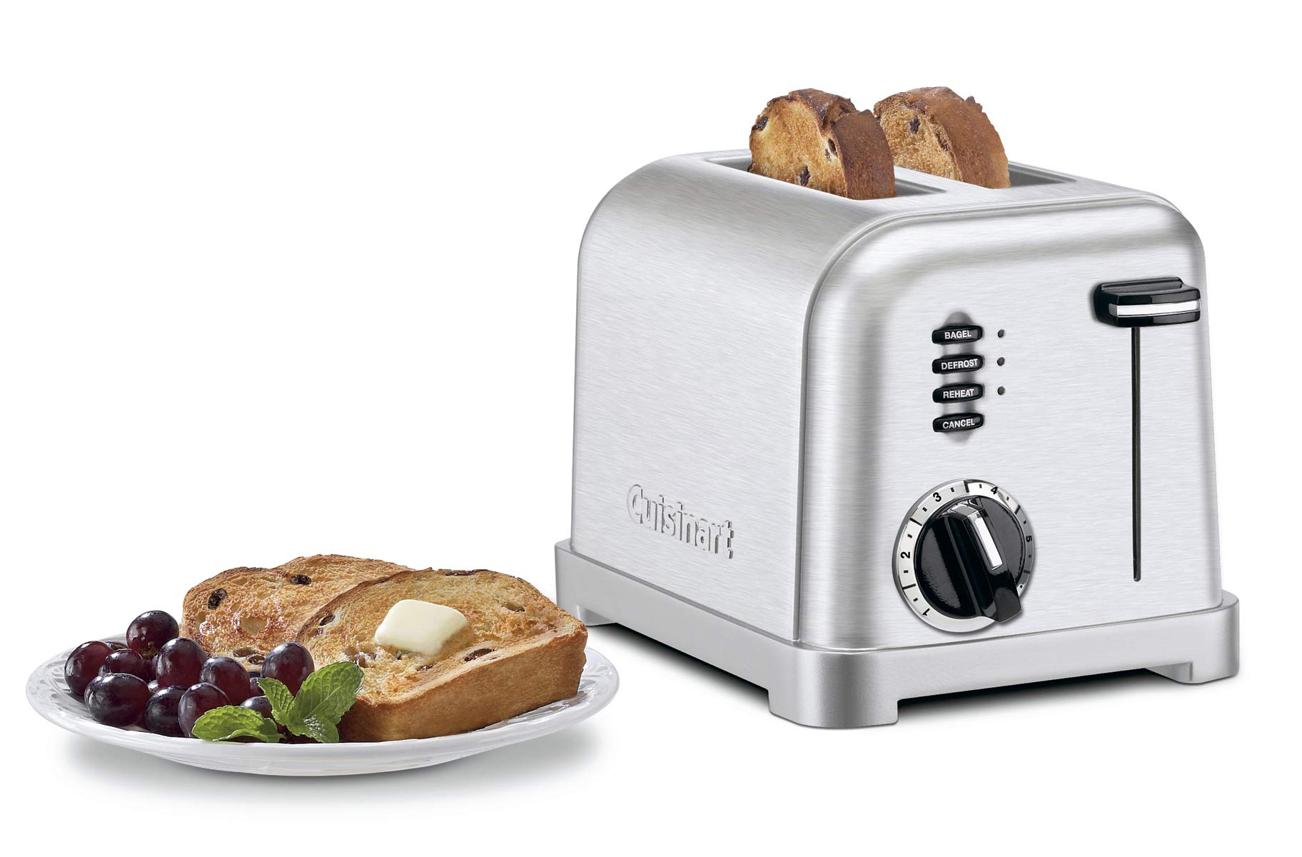 Cuisinart Metal Classic 2-Slice toaster, Brushed Stainless