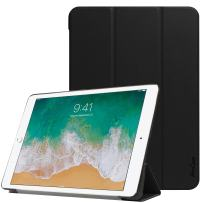 """Procase iPad Air 10.5"""" (3rd Gen) 2019 / iPad Pro 10.5"""" Case 2017, Slim Stand Hard Shell Case Smart Cover for 2019 Apple iPad Air10.5 inch / 2017 Apple iPad Pro 10.5 inch –Black"""