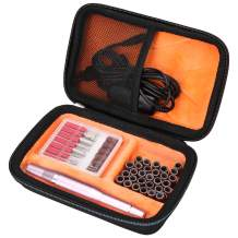 Mchoi Hard EVA Travel Case for Bestidy Electric Nail Drill Kit(CASE ONLY)
