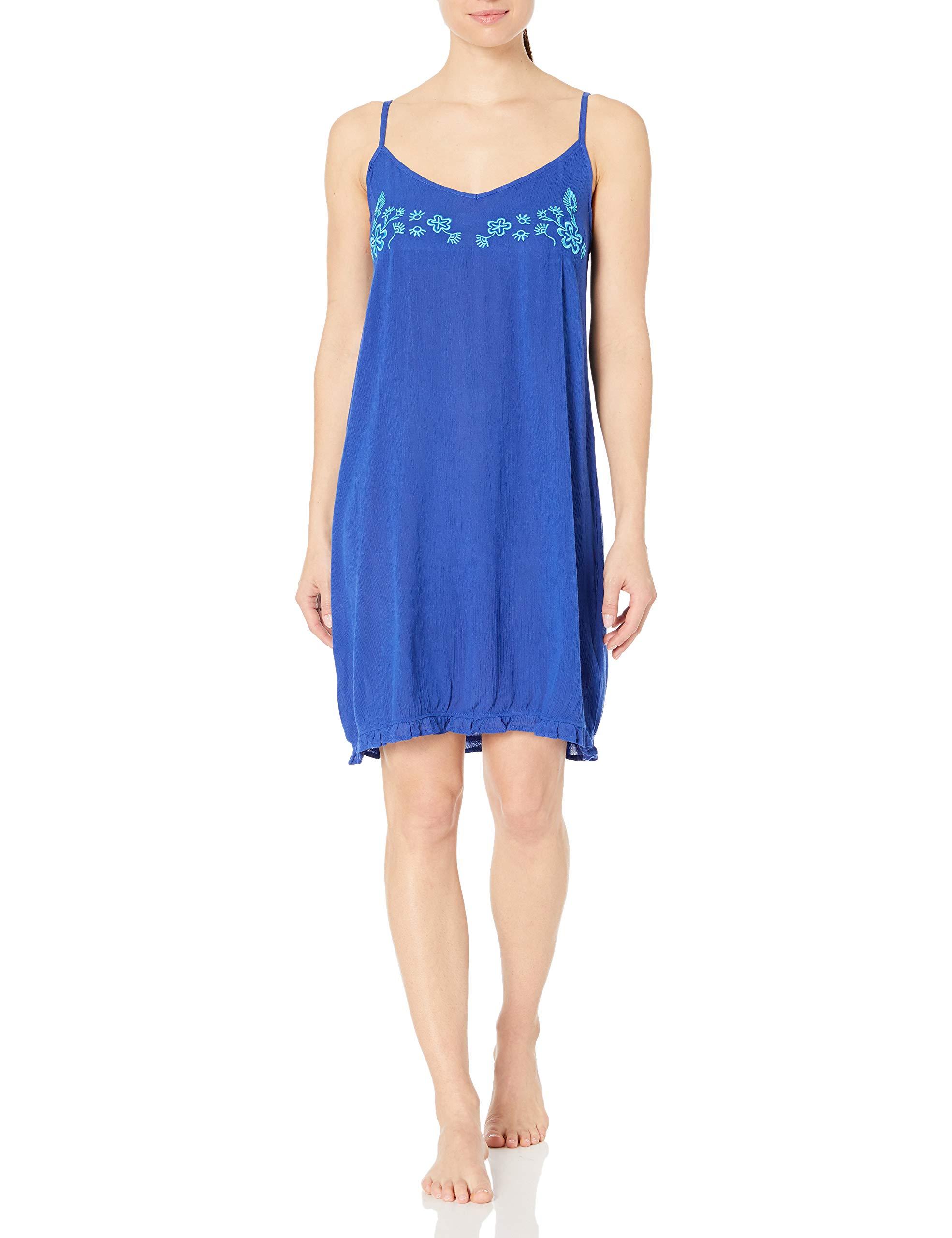 Amazon Brand - Mae Women's Sleepwear Crinkle Crepe Chemise Nightgown