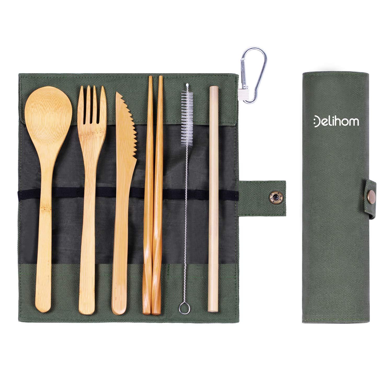 Outdoor Travel Aluminum Chopsticks Storage Box Camping Tableware Cutlery Q