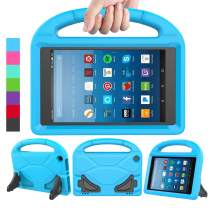 LEDNICEKER Kids Case for Fire HD 8 2018/2017 - Shockproof Handle Friendly Convertible Stand Kids Case for Fire HD 8 inch Tablet (7th & 8th Generation Tablet, 2017 & 2018 Release) - Blue