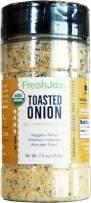 FreshJax Premium Gourmet Spices and Seasonings, (Toasted Onion: Organic All-Purpose Seasoning) 7.4oz