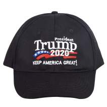 Trump Hat, Keep America Great/Make America Great Again MAGA Hat, Donald Trump 2020 Adjustable Baseball Cap