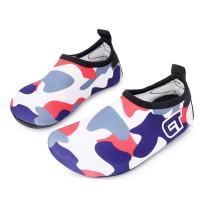WXDZ Kids Water Shoes Swim Shoes Mutifunctional Quick Drying Barefoot Aqua Socks for Beach Pool MS0221 navyred 34/35