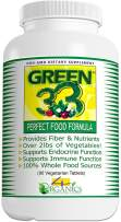 Green 33 Daily Vegetables Healthy Green Super Foods Supplement (Bottle 90 Tablets) - 4 Organics - All Natural Premium Quality 100% Whole-Food Vegetable Vegan Vitamin Tablet - Satisfaction Guaranteed