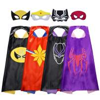 ROKY Cool Superhero Capes Dress Up Costumes for Kids - Best Gifts