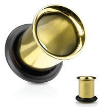 "BodyJ4You Ear Tunnel Plugs Single Flare Gauges 14G-2"" Flesh Earrings Stretching Piercing Jewelry"