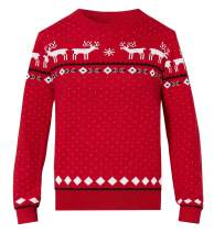 Funnycokid Ugly Christmas Sweater Kids Boys Girls Xmas Party Pullover Sweatshirt 3-10 Years