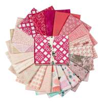 Art Gallery Fabrics Exclusive Bundle 20 Fat Quarters Pink