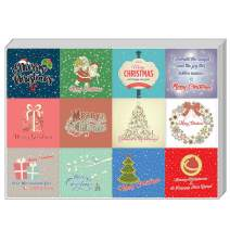 Creanoso Christmas Stickers Series (10-Sheet)