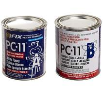 PC-Products PC-11 Epoxy Adhesive Paste, Two-Part Marine Grade, 4lb in Two Cans, Off White 640111