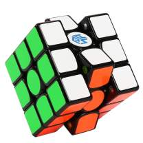 GAN356i 3x3 Smart Cube, Gans 356 i Speed Cube Stickers, Magic Cube 3by3 Magnetic Puzzle Cube with Intelligent Tracking Timing Data Training Magic Cube with Cube Station App
