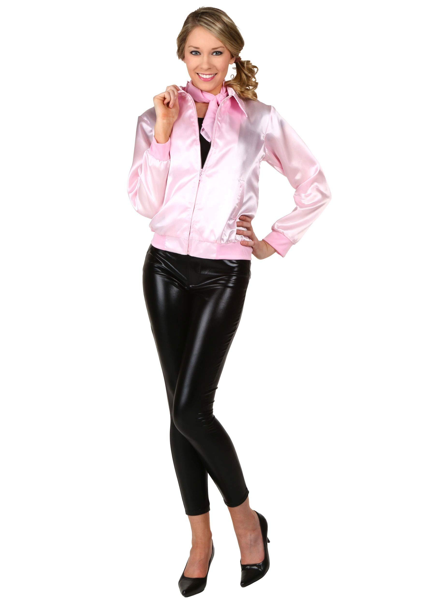 Pink Ladies Jacket Grease Costume Jacket Officially Licensed