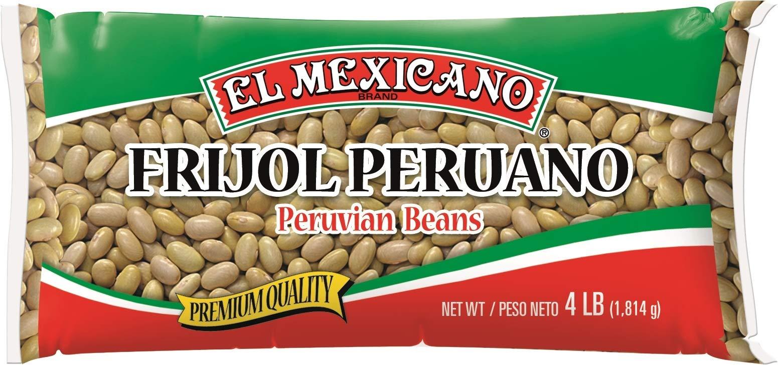 El Mexicano Peruvian Beans (4 lb 4 pack)