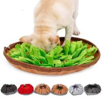 Pet Snuffle Feeding Mat for Dogs, IQ Training Interactive Toy Durable Washable Game Mats/Pads, Indoor Outdoor Nose Work Pets Toys Encourages Natural Foraging Skills … (Fresh Green)