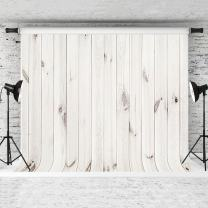 Kate 10x6.5ft Wood Backdrop for Photography White Wood Backdrop Custom Backdrop