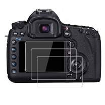 PCTC Screen Protector Tempered Glass Compatible for Canon EOS 5DIV 5D IV 5D4 5DIII 5D III 5D3 5DV 5D5 (3 Packs) (5D III)