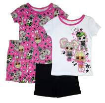 L.O.L. Surprise! Girls' 4-Piece Cotton Pajama Set