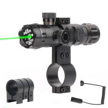 GOHIKING Tactical Green Sight, 532nm Green Dot Rifle Scope Sight with 2 Mounts,2 Pressure Switches
