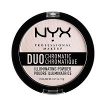 NYX PROFESSIONAL MAKEUP Duo Chromatic Illuminating Powder, Snow Rose