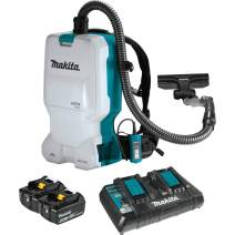 Makita XCV17PG 18V X2 LXT Lithium-Ion (36V) Brushless Cordless 1.6 Gallon HEPA Filter Backpack Dry Vacuum (6.0Ah)