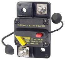 Bay Marine Supply 285 Series Circuit Breaker – 70A Surface Mount 48V DC Max – Ignition Protected Single Pole Thermal MRCB Marine Rated Weatherproof Auto, Manual, Switchable Reset