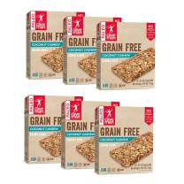 Caveman Coconut Cashew Grain Free Granola Bar 35g Bar, 4 count bars, 6 Pack