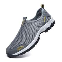 Resonda Men Walking Shoes, Summer Mesh Breathable Sneakers or Outdoor Hiking Shoes,Lightweigt and Soft for Walk