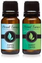 Pair (2) - Aspen Grass & Sweet Grass - Premium Fragrance Oil Pair - 10ML