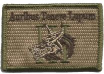 Wolf Threeper Tactical Patch