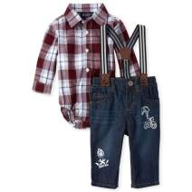 The Children's Place Baby Boys Long Sleeve Shirt Set