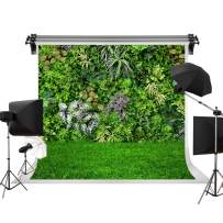 Kate 7x5ft/2.2m(W) x1.5m(H) Spring Backdrop Natural Green Lawn Party Photography Backdrop Plant Background Wedding Backdrop Props