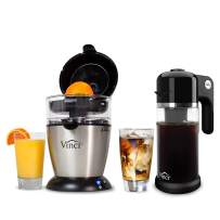 Vinci Bundle | Hands-Free Automated Electric Citrus Juicer And Express Cold Brew Electric Coffee Maker