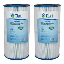 Tier1 Hayward C2025, SwimClear C2020 C2025, Filbur FC-1235, Pleatco PA50SV, Unicel C-7447 Comparable Replacement Pool and Spa Filter Cartridge (2-Pack)