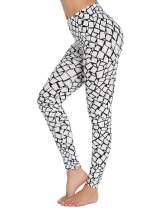 KISSLACE Women High Waist Yoga Pants Tummy Control Workout Running 4 Way Stretch Yoga Leggings