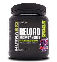 NutraBio Reload – Post Workout Recovery (30 Servings, Grape Berry Crush)