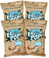 Ka-Pop! Popped Chips, Salt & Vinegar (3.25oz, Pack of 4) - Allergen Friendly, Sorghum, Gluten-Free, Paleo, Non-GMO, Vegan, Whole Grain Snacks, As Seen on Shark Tank