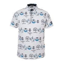 SINA COVA Shortsleeve Shirt Sport Sweat QuickDrying Men Marine Golf 19150510