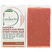 Active Manuka Honey Natural Soap and Shampoo Bar Set of Two