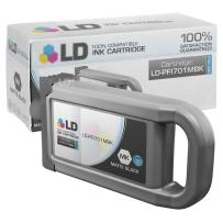 LD Compatible Ink Cartridge Replacement for Canon PFI-701MBk 0899B001AA High Yield (Matte Black)