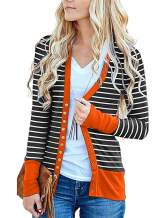 KAY SINN Cardigans Sweaters for Women Outfits Open Front Button Lightweight Chunky Dusters