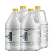 CarpetGeneral - Carpet Odor Absorber 4278 - Concentrated Neutralizer, Deodorizer, and Eliminator - for Home Carpets and Surfaces - Organic Odors - Raspberry - Professional Grade - 4 Gallon Case