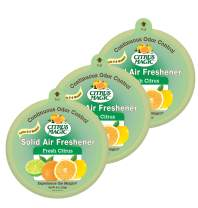 Citrus Magic Solid Air Freshener Fresh Citrus, Pack of 3, 8-Ounces Each