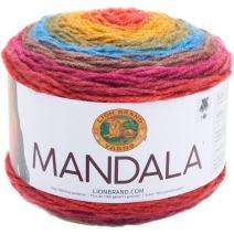 Lion Brand Yarn 525-204 Mandala Yarn, Chimera