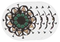 Danica Studio 7001979aa Ceramic 4 Shadowvale Coaster Set, Multicolor