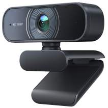 Victure Webcam with Dual Microphones, 1080P Full HD Streaming Webcam for PC, MAC, Desktop & Laptop, Plug and Play USB Camera for YouTube, Skype, WebEx, Video Calling, Conferencing, Studying
