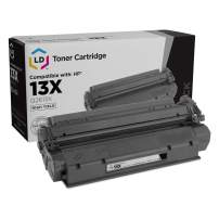 LD Remanufactured Toner Cartridge Replacement for HP 13X Q2613X High Yield (Black)