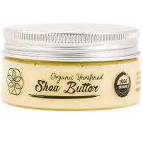 Worlds Best USDA Certified Organic Shea Butter: Highest Quality Unrefined Rare Nilotica, Certified Fair-Trade - Nourishes, Replenishes and Protects Skin and Hair - Travel Size - 2.8oz