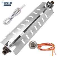 Romalon WR51X10055 Refrigerator Defrost Heater&WR55X10025 Temperature Sensor&WR50X10068 Defrost Thermostat Kit Compatible With General Electric&Hotpoint
